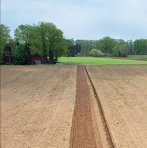 Fält gräns, Näsgård Karta